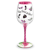 Notaviva Vineyards Host Your Own Wine Show - Sip, Swirl & Shop Hand-Decorated Wine Glass