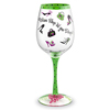 Notaviva Vineyards Host Your Own Wine Show - Wine Shop 'Til You Drop Hand-Decorated Wine Glass